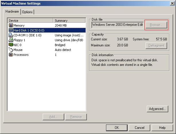 Redimensionar discos virtuales VMWare